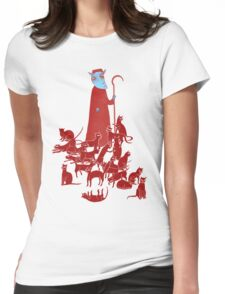 Herding Cats Womens Fitted T-Shirt