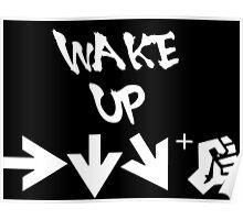STREET FIGHTER - WAKE UP SHORYUKEN - WHITE Poster