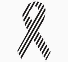 Zebra Print Ribbon Kids Tee