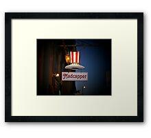 Madcapper Signage Framed Print