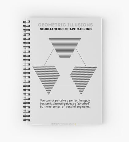 Psychology of Shapes Spiral Notebook