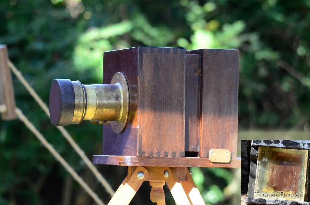 Old Camera Used During the Civil War by TJ Baccari Photography