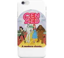 Wizard of Zed iPhone Case/Skin