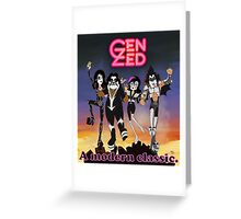 Gen Kiss Greeting Card