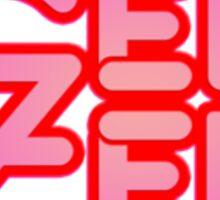 Gen Zed Logo Sticker