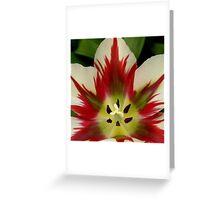 Flaming Springgreen Greeting Card