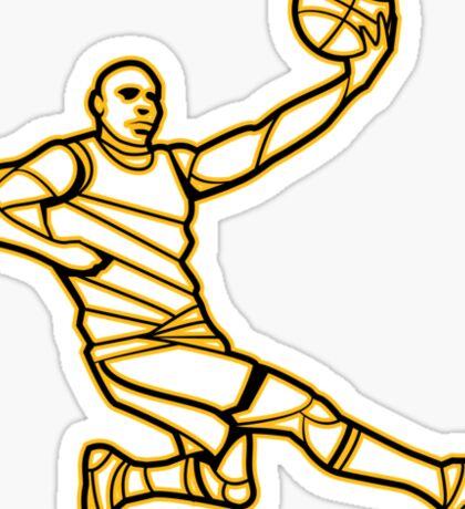 Basketballer Sticker