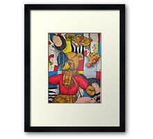 Toy still life Framed Print