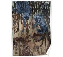 Maurice de Becque Livre de la jungle, p48 Poster