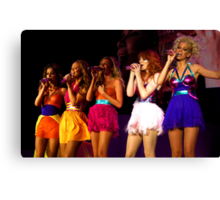 Girls aloud live in Bournemouth 2008 Canvas Print