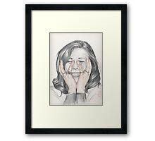 Funny Momenst Framed Print