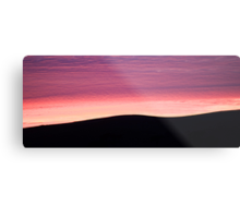 Purple Haze - Baylys Beach sunrise - NZ  Metal Print