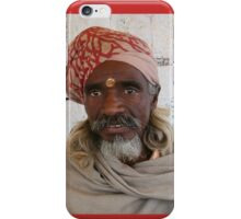 India Holy Human iPhone Case/Skin