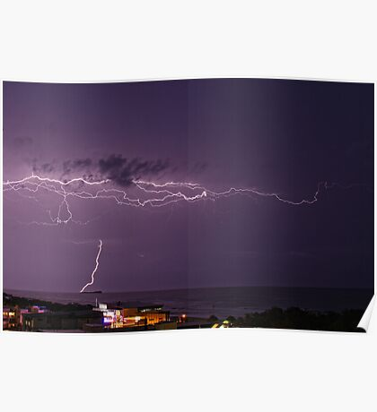 Maroochydore storm Poster