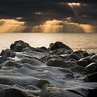At the End of the Groyne by Kofoed