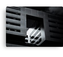 Void Cube Canvas Print