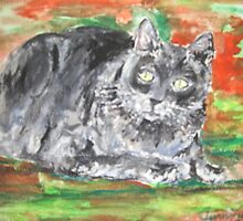 Smalls (My Cat) by Jennifer Ingram
