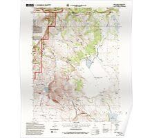 USGS Topo Map California Lake Annie 101553 1993 24000 Poster