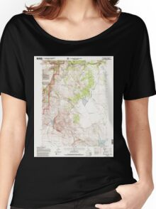 USGS Topo Map California Lake Annie 101553 1993 24000 Women's Relaxed Fit T-Shirt