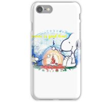 snoopy and memorable moment iPhone Case/Skin