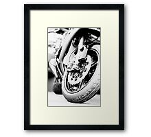 Bitumen 'Virgin' Framed Print