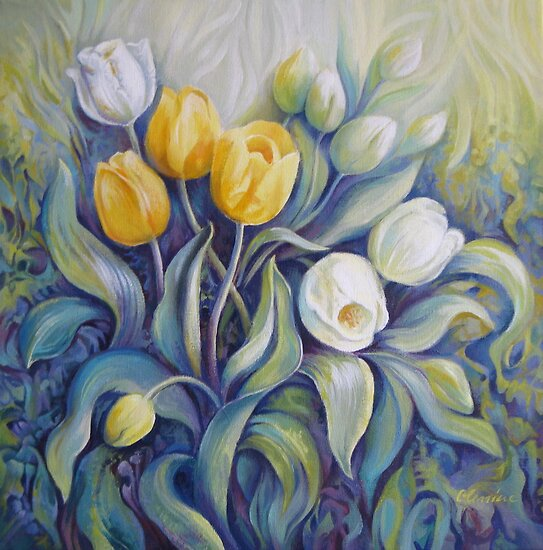 Tulips by Elena Oleniuc