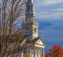 USA. Connecticut. Litchfield. First Congregational Church. by vadim19