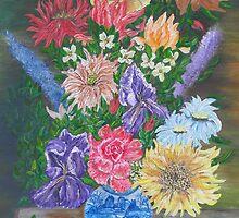 Flemish Floral by Mikki Alhart