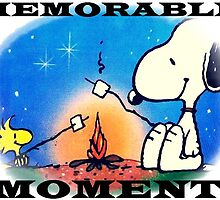 snoopy and woodstock, memorable moment  by lovenaturenow