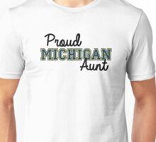 Proud Michigan Aunt Unisex T-Shirt