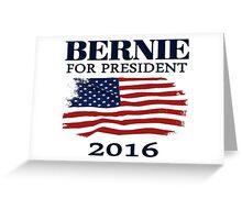 Bernie Sanders for president 2016 Greeting Card