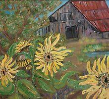 Sunflower Farm by Mikki Alhart
