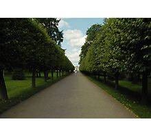Keep Going Straight On Photographic Print