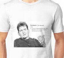Charlie Sheen - Bi-winner Unisex T-Shirt