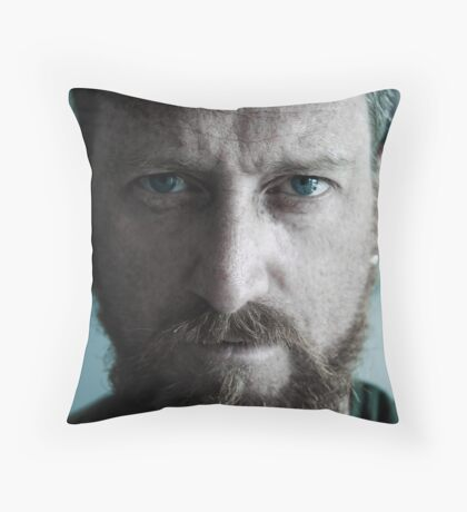 Self Portrayed  Throw Pillow