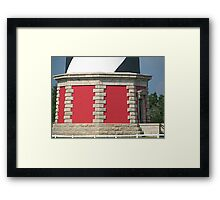 Off Base Framed Print