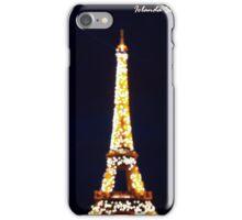 tourre eiffel romantic iPhone Case/Skin