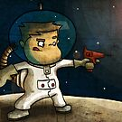 Space boy by Scott Weston