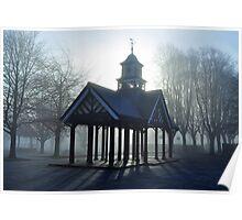Clock Towers Halo - Staple Hill, Bristol Poster