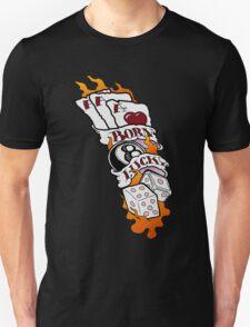 Born Lucky (large) T-Shirt