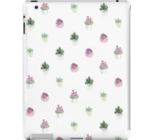 4 plants iPad Case/Skin
