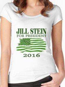 Jill Stein for president 2016 Women's Fitted Scoop T-Shirt