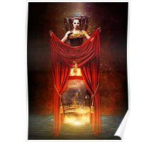 Circus Curtain Poster