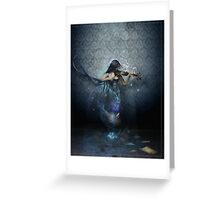 Muse of Music Greeting Card