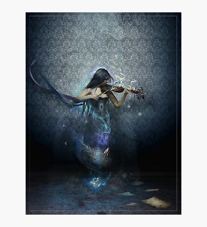 Muse of Music Photographic Print