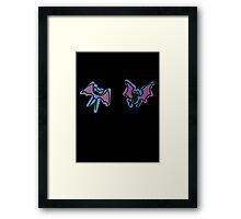Zubat, Golbat Framed Print