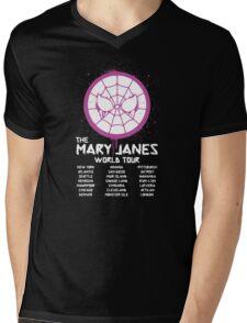 Mary Jane`s World Tour Mens V-Neck T-Shirt