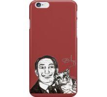 Salvador Dali & Ocelot Tribute iPhone Case/Skin