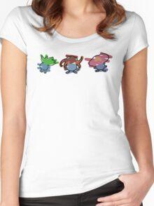 Oddish, Gloom, Vileplume Women's Fitted Scoop T-Shirt
