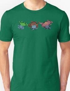 Oddish, Gloom, Vileplume Unisex T-Shirt